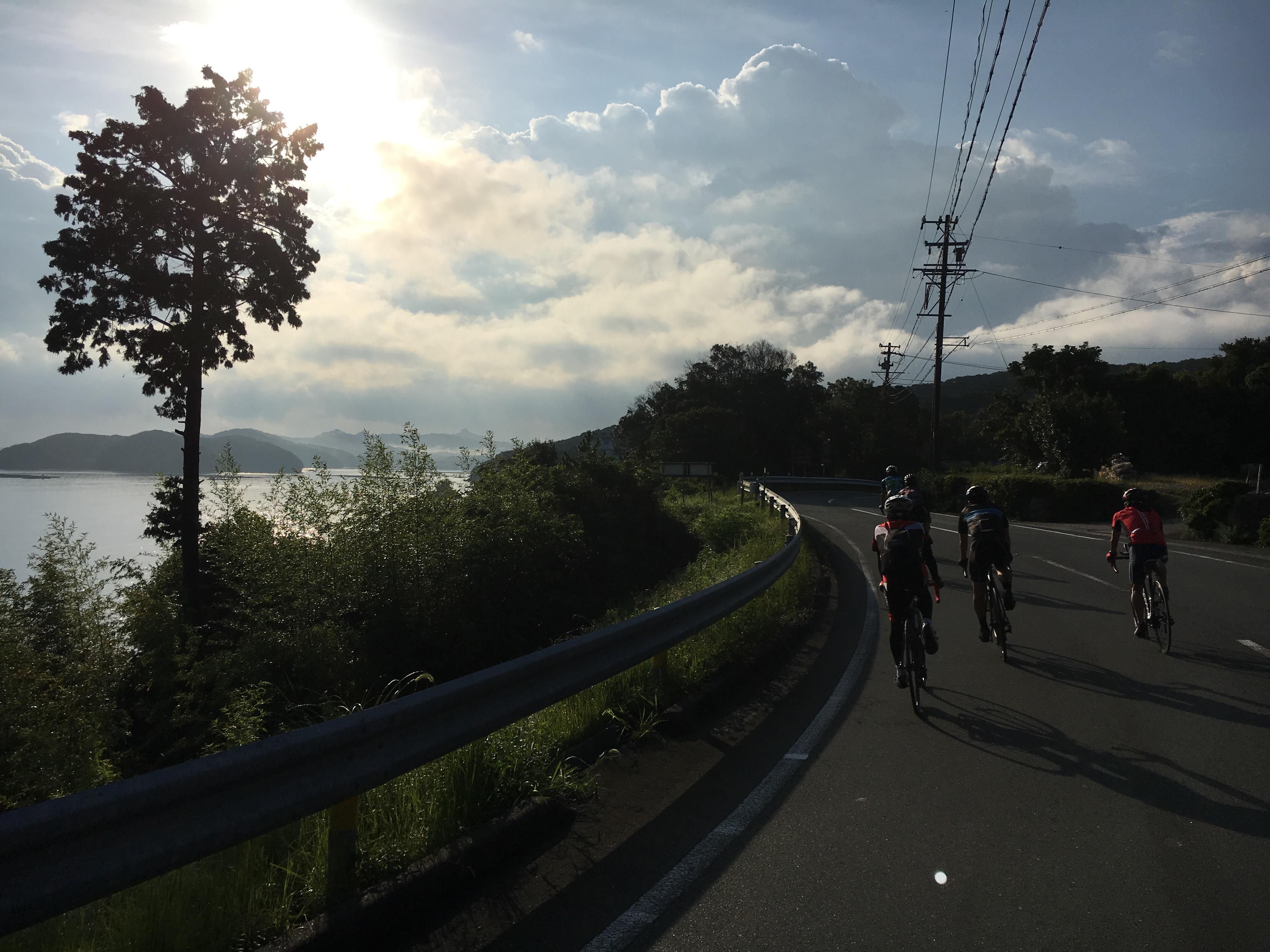 今月の おはようサイクリング !