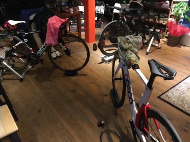 明日朝一は おはようサイクリング in ケーケー1号店!