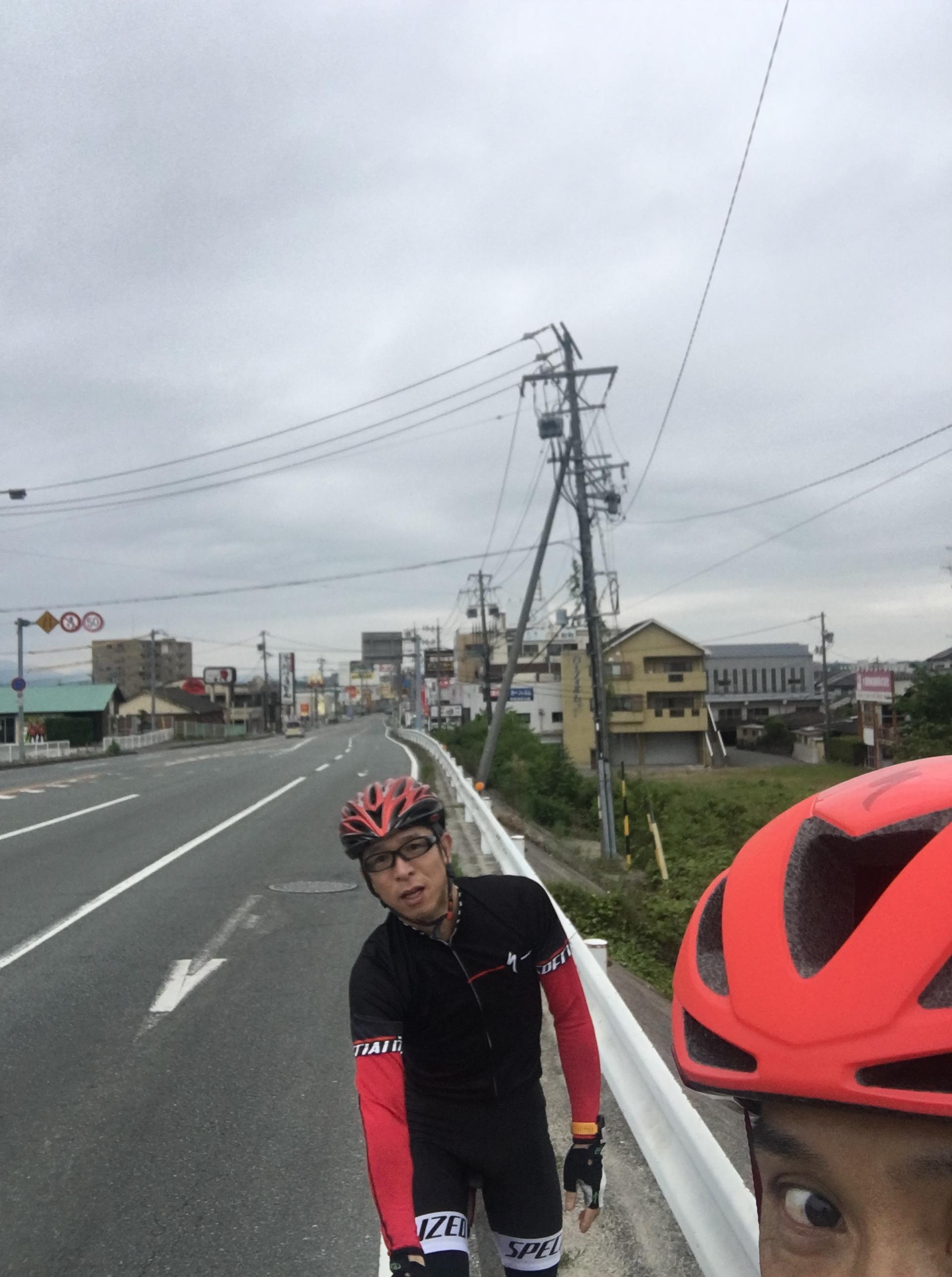おはようサイクリングは中止でしたが、、、
