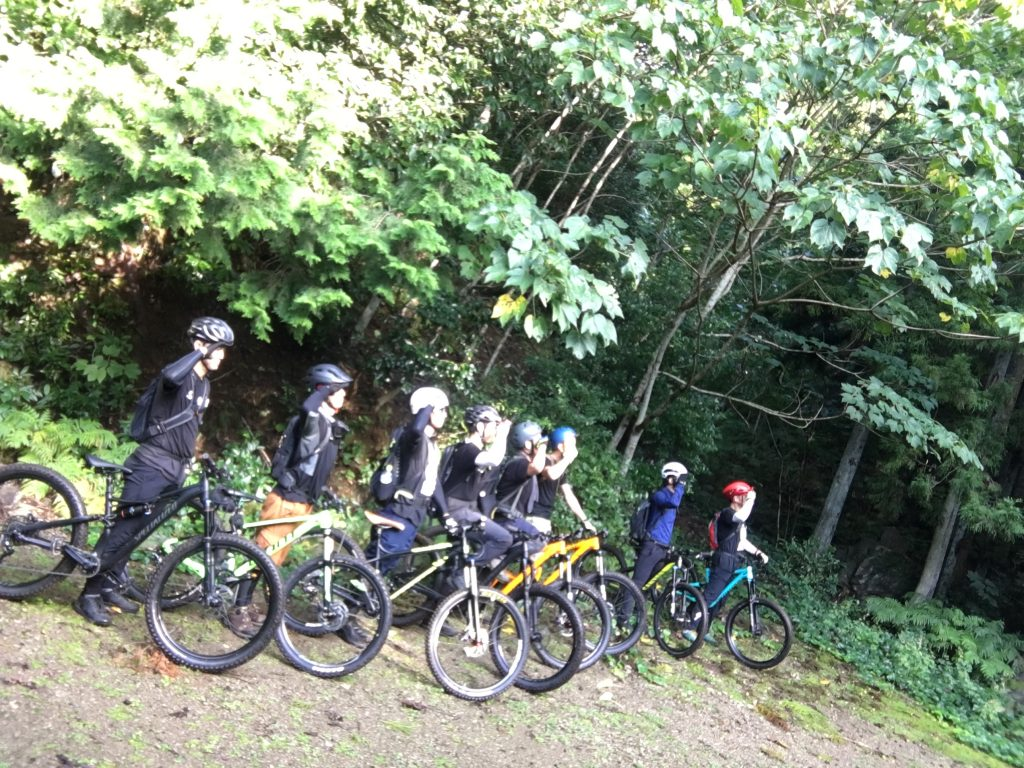 今月のお山サイクリング!