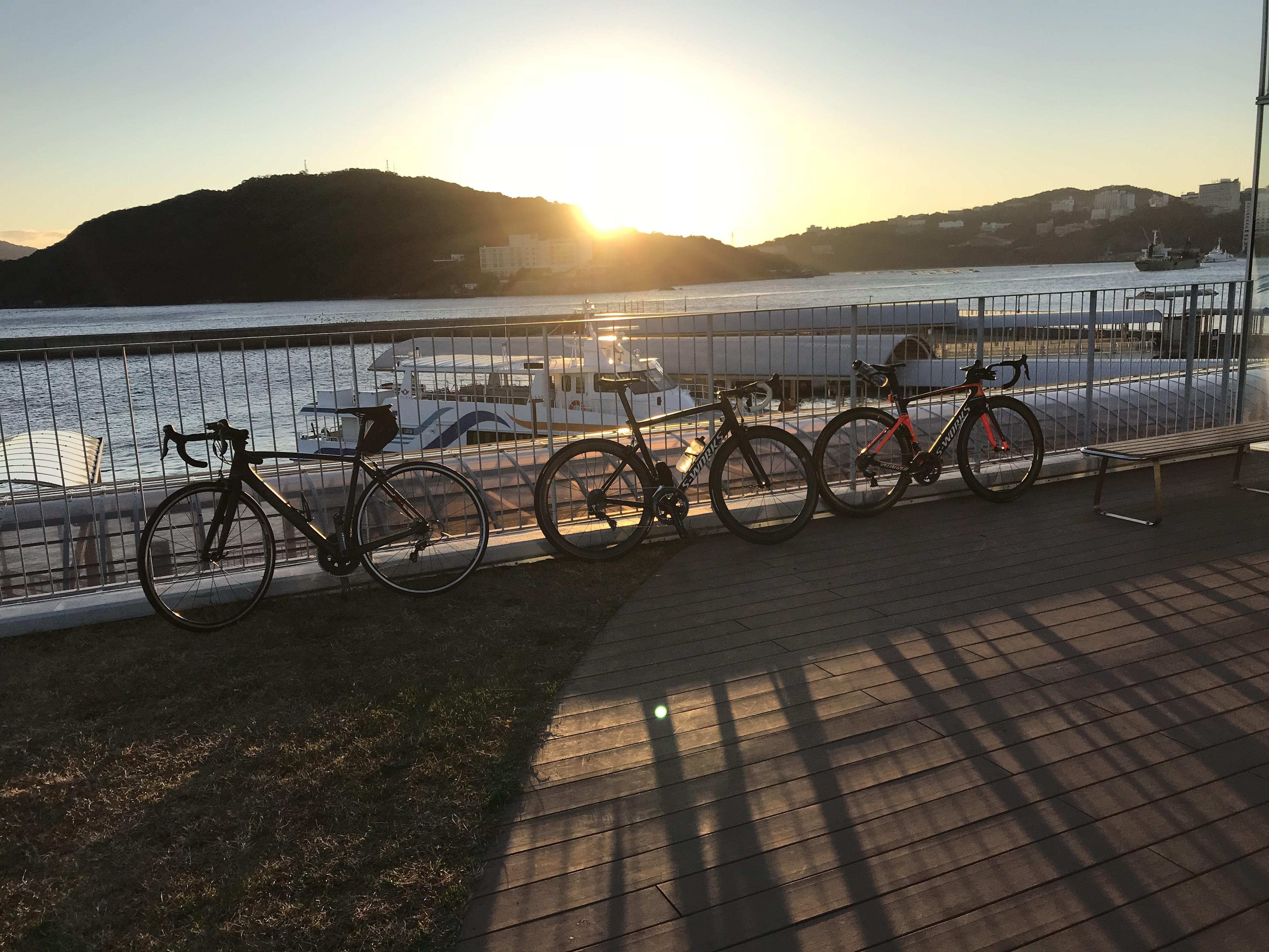 今年一発目の おはようサイクリング!