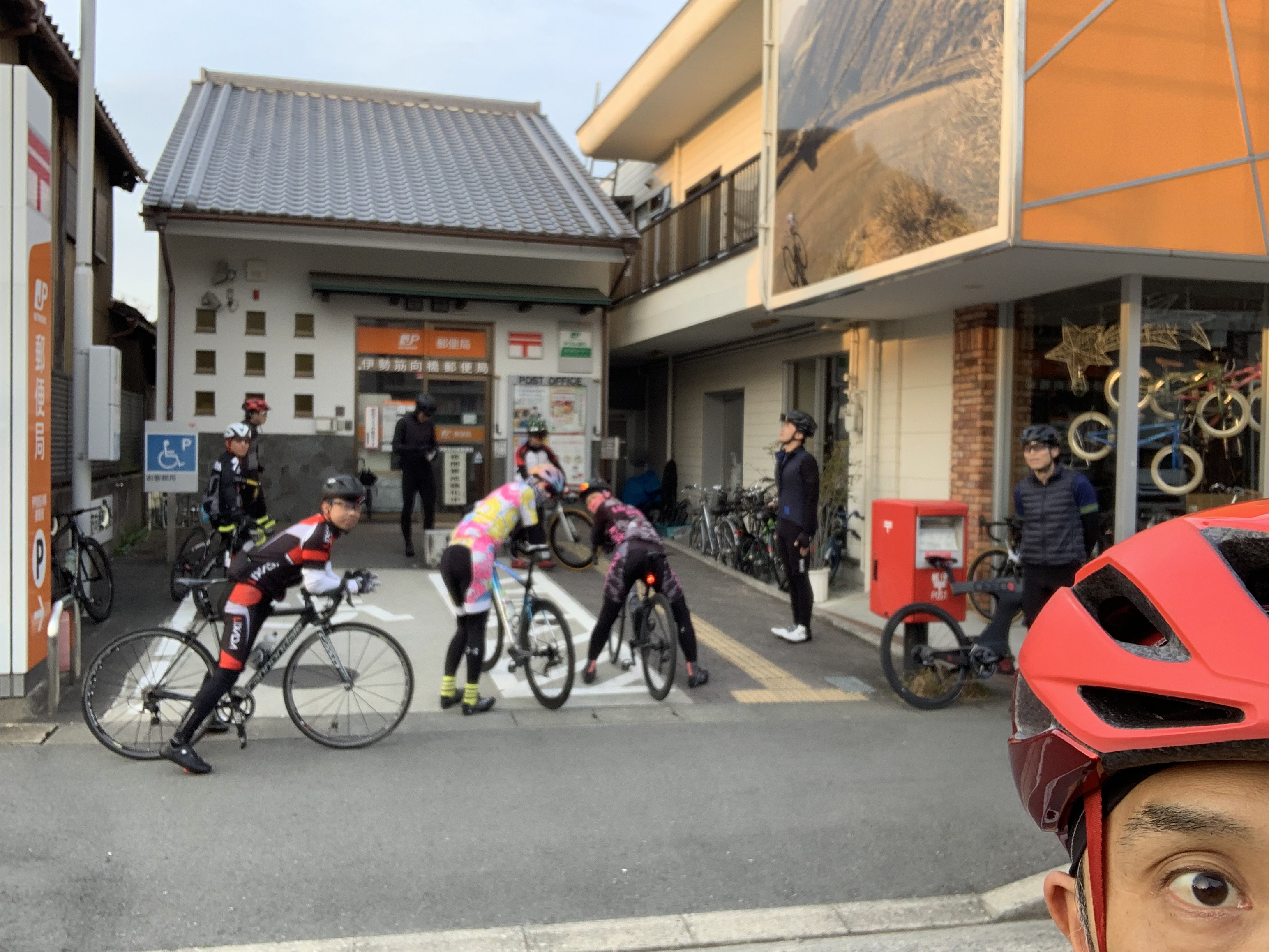 4月のおはようサイクリング!