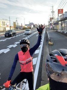 3月の初心者サイクリング!