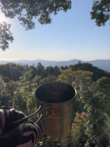 朝一お初お山モーニング!