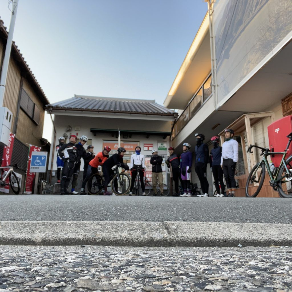 12月の初心者サイクリング!