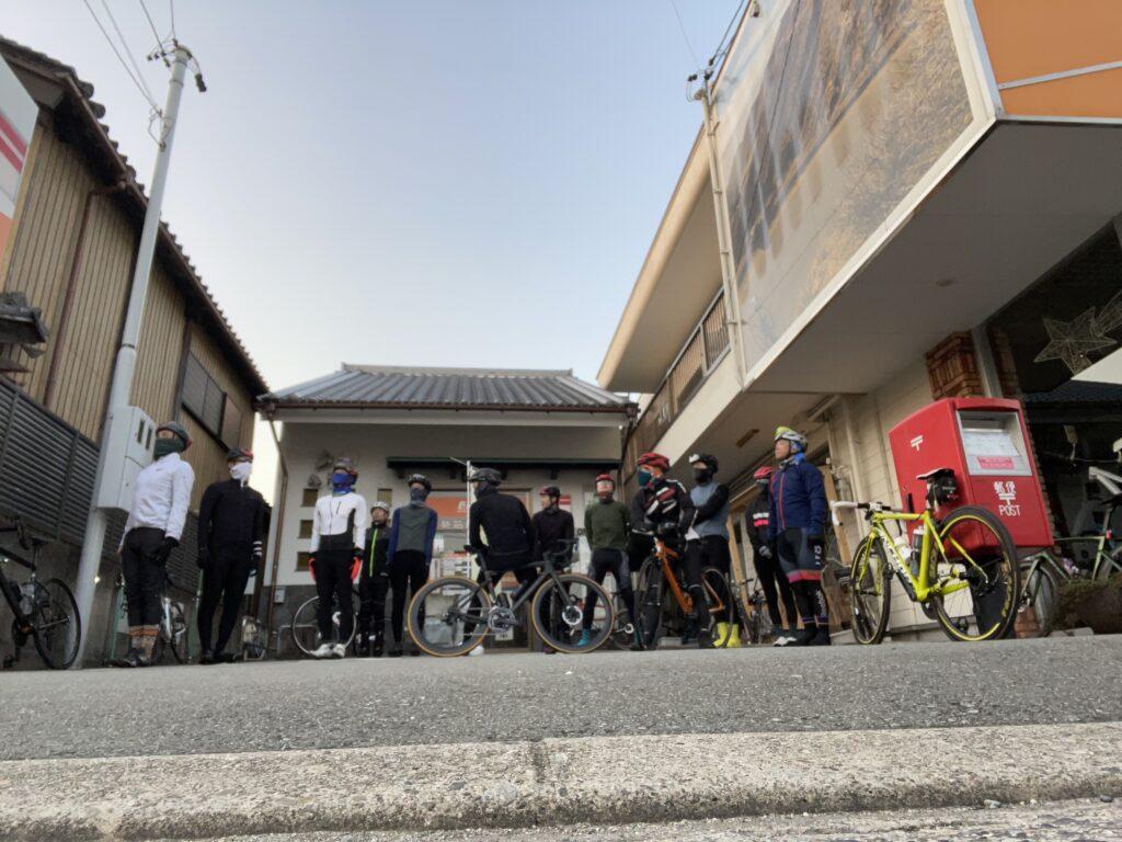 2月の初心者サイクリングモーニング!
