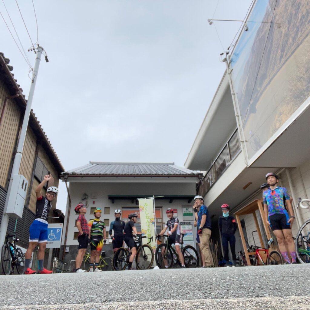 7月の初心者サイクリング!