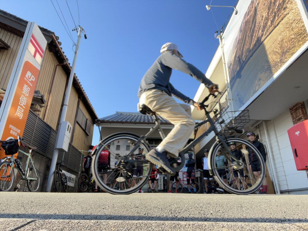 10月の初心者サイクリング!